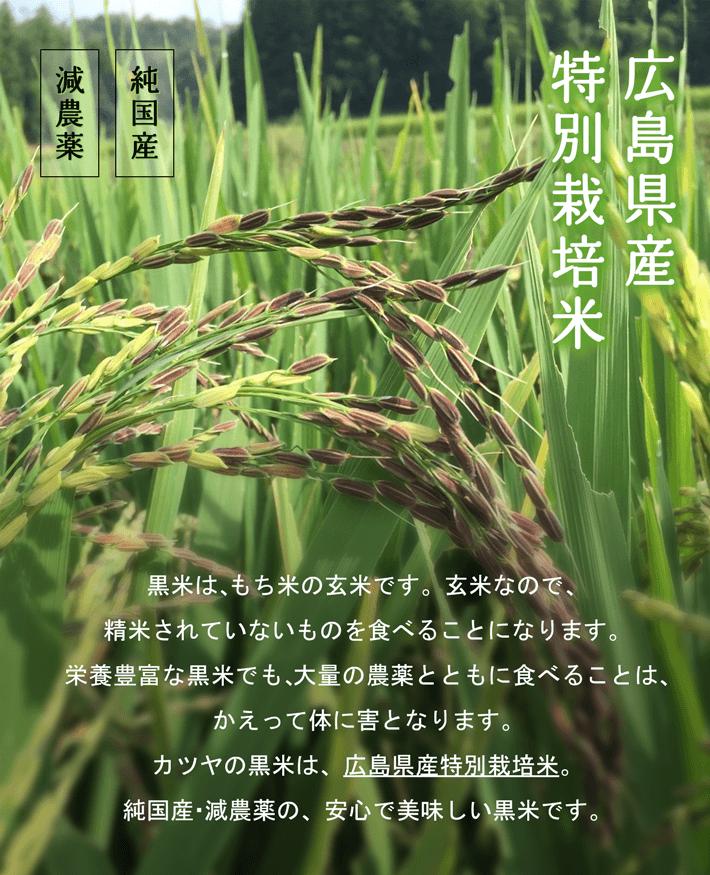 広島県産特別栽培米。純国産・減農薬